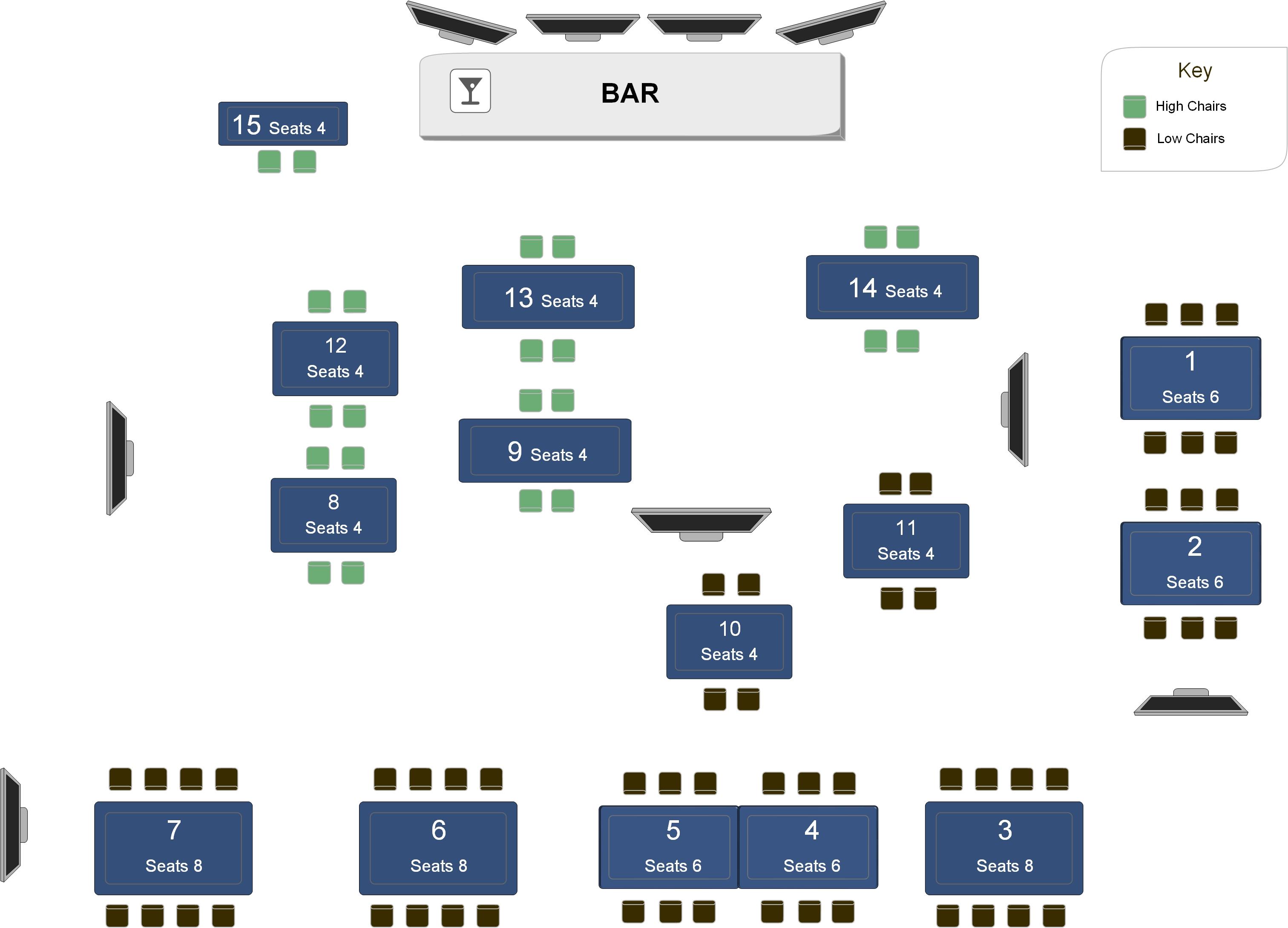 Scotland vs Samoa – Hennesseys Bar – Kitchen – Garden